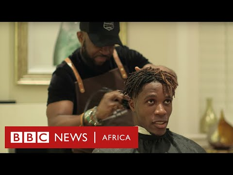 Premier League footballers get hairstyles from this African