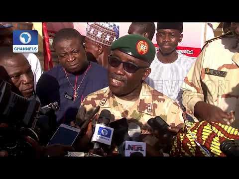 Army GOC denies saying repentant Bokoharam member can become President