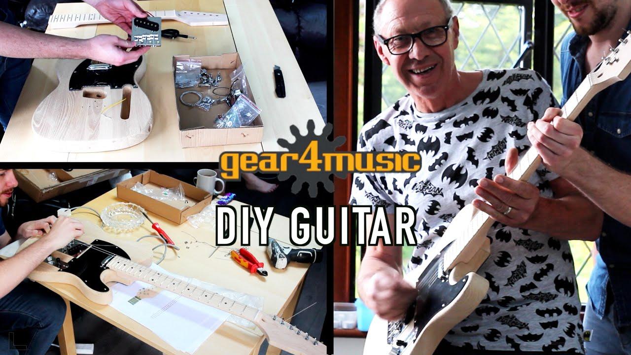 Build your own guitar diy guitar kit youtube solutioingenieria Choice Image