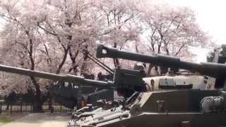 "База Сил самообороны Японии ""Кэмп Асака"" в городе Асака (Asaka City) префектуры Токио."