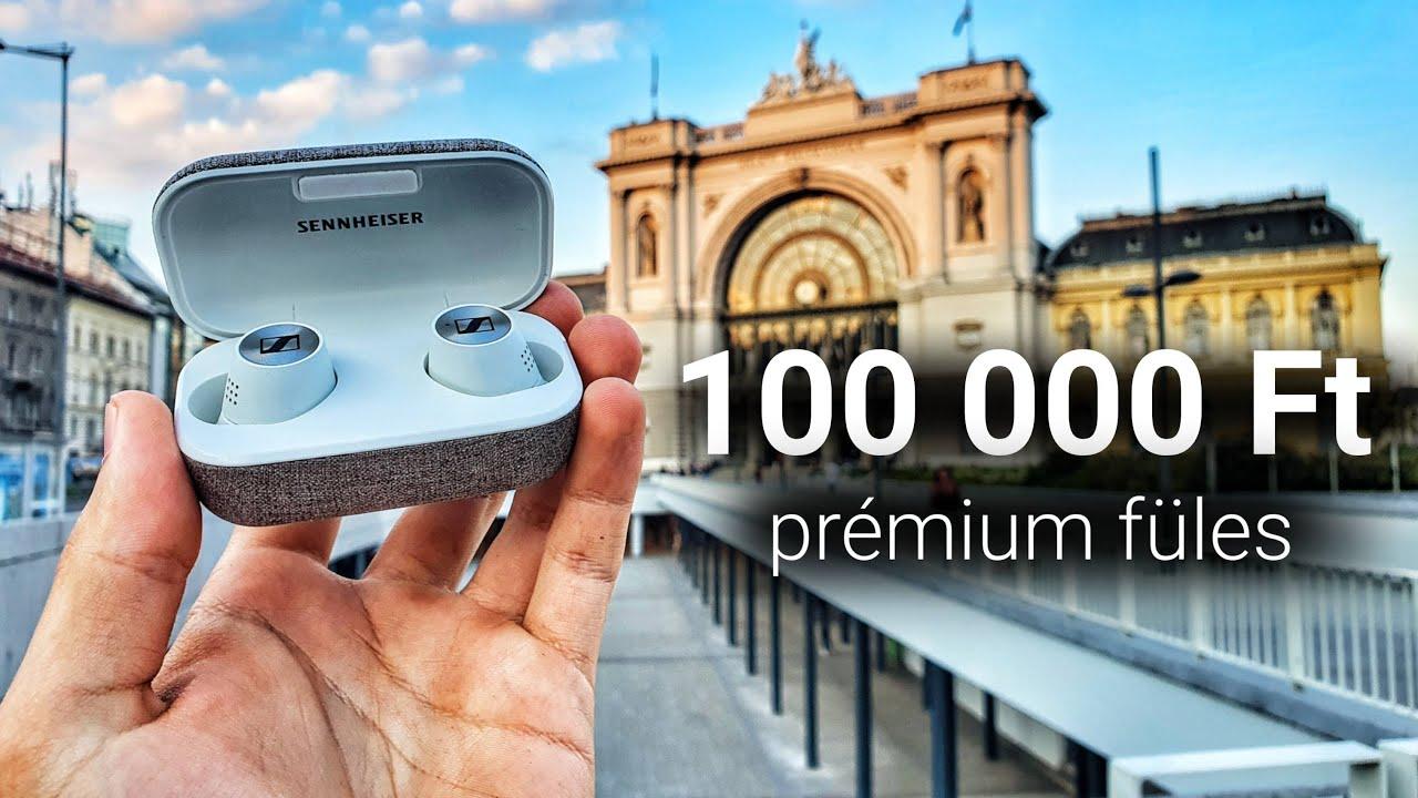 Mit tud egy 100 000 Ft-os fülhallgató? - Sennheiser Momentum TW 2 teszt