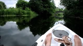 Kayaking on the river Wensum