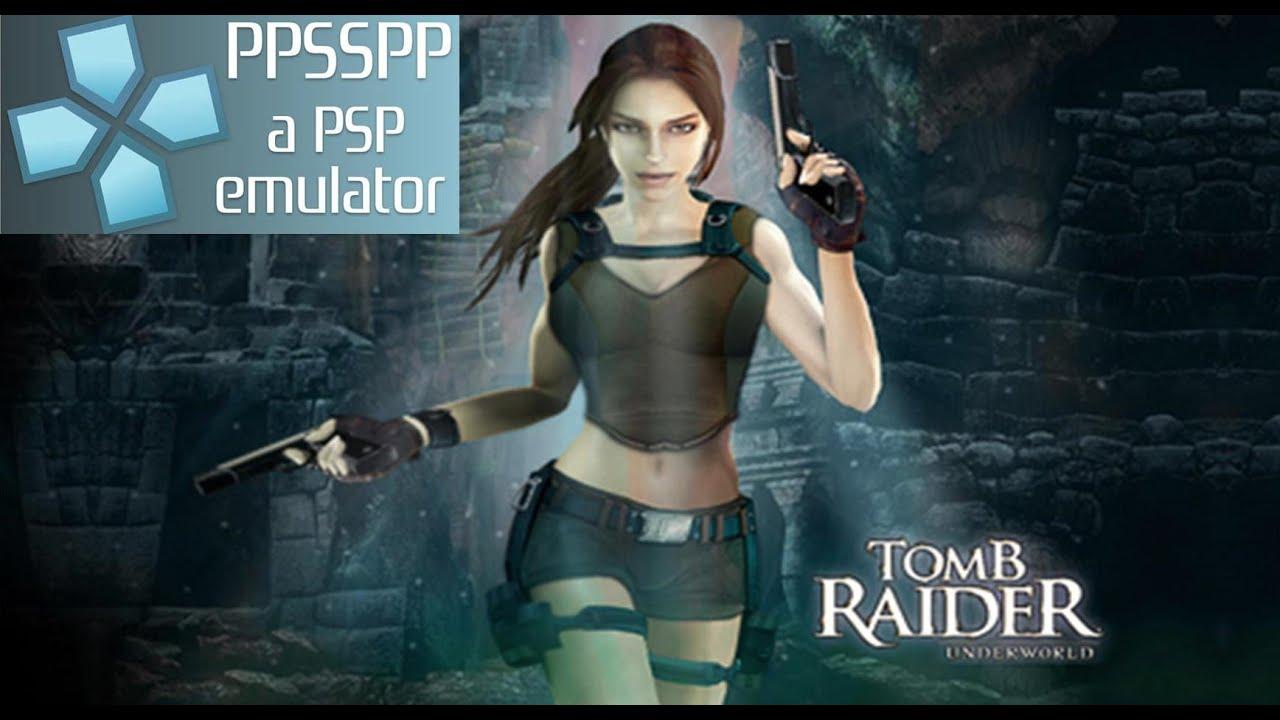Lara Croft Tomb Raider Legend Psp Pc Youtube