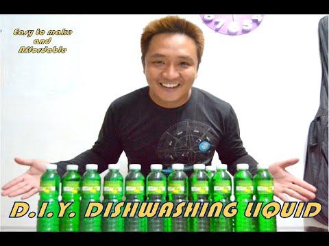 how to make dishwashing liquid at Home Php25. 00/L
