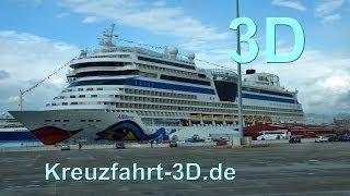 3D-Video: AIDA Reisebericht Mittelmeer Kreuzfahrt - Tag 8 - Palma de Mallorca mit AIDAmar