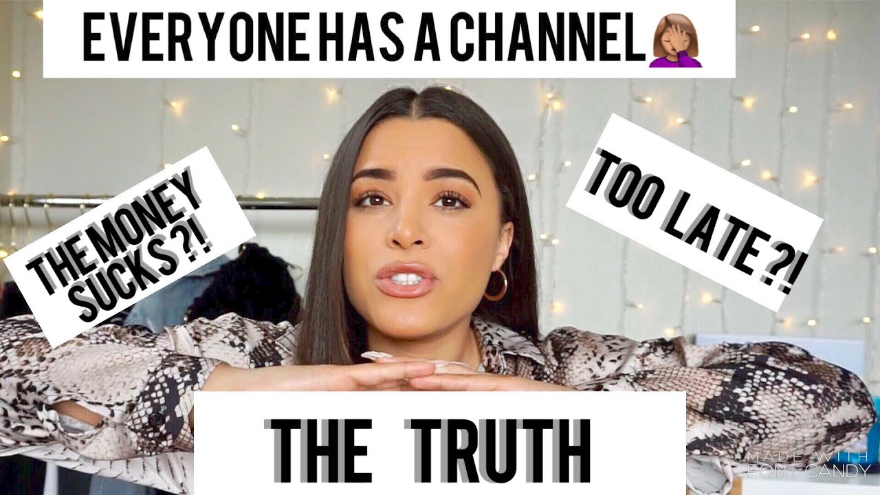 IS IT TOO LATE TO START YOUTUBE IN 2019 ?!