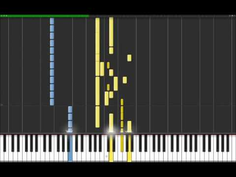 The Ghost Of You - My Chemical Romance (Easy Piano Tutorial) in Synthesia (100% speed)