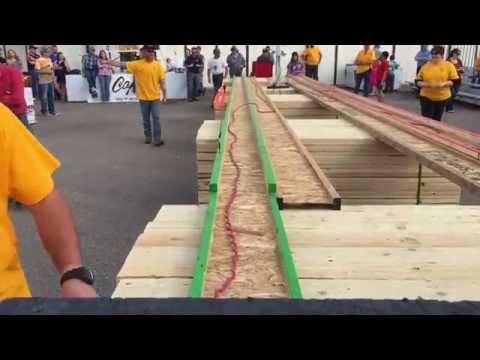 Belt sander races capital lumber Cheyenne Wyoming SPEED