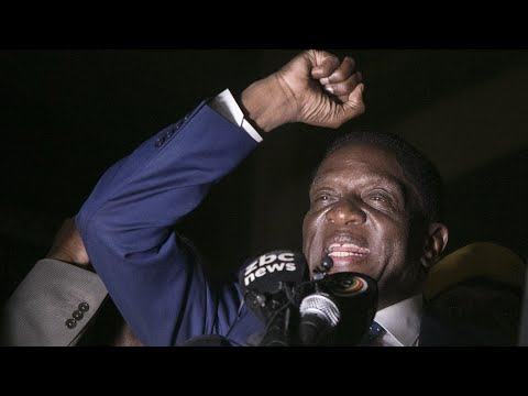 'The voice of the people is the voice of God' says Mnangagwa