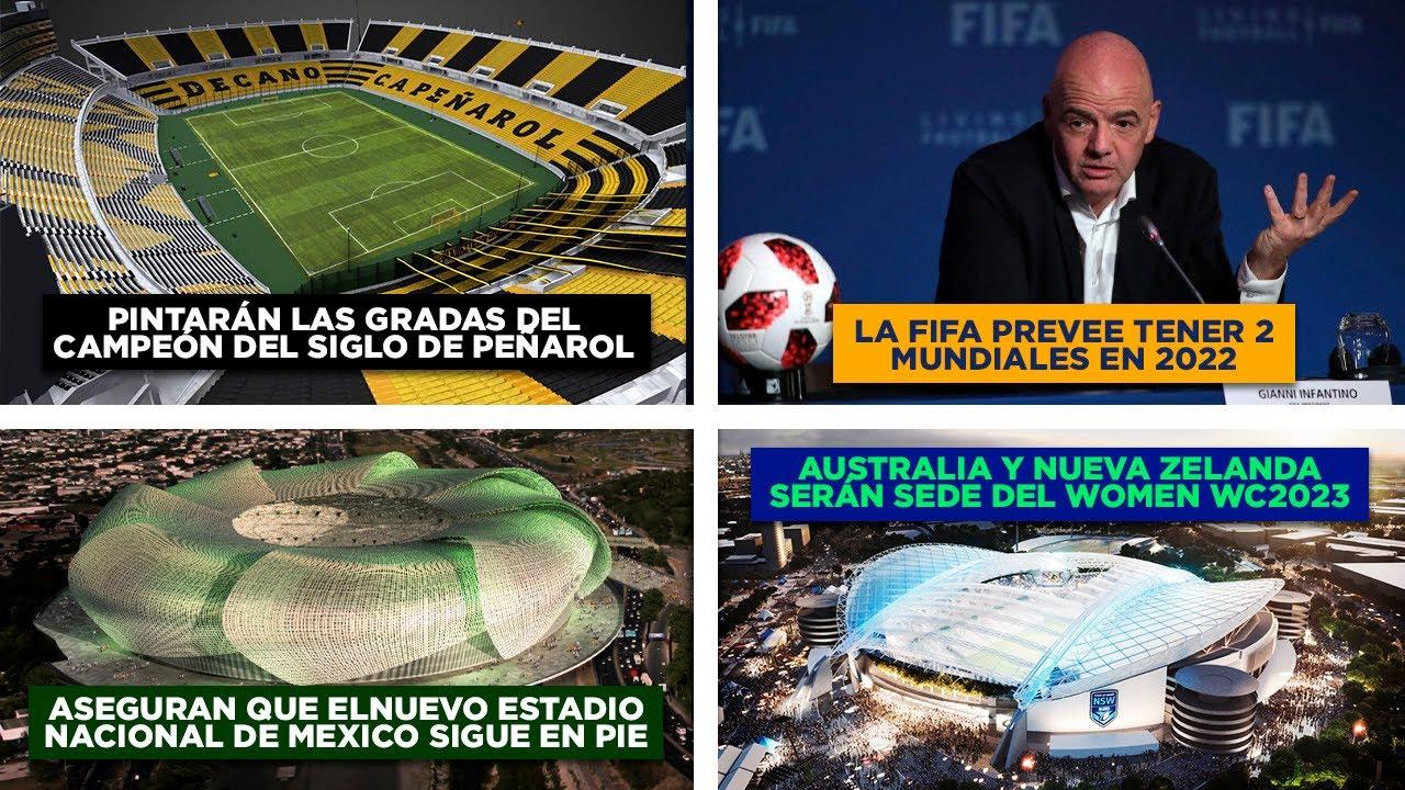 Dos Mundiales en 2022 - Pintarán gradas del Campeón del siglo - Nuevo estadio en Ensenada | Manynews