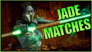 SonicFox -  Having Fun With Jade & Cassie【Mortal Kombat 11】