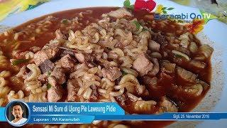 Sensasi Mi Sure di Ujong Pie Laweung Pidie