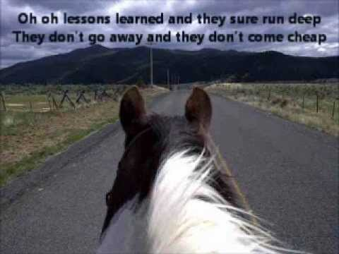 Lessons Learned by Tracy Lawrence (Lyrics)