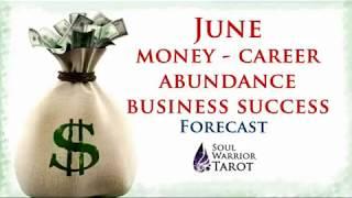 PISCES JUNE MONEY 🍀 CAREER SUCCESS FORECAST  Soul Warrior Tarot