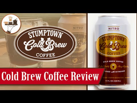 Cold Brew Review Stumptown Coffee Nitro Cold Brew Youtube