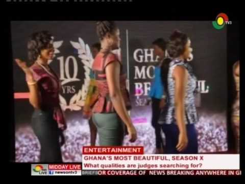 Ghana's Most Beautiful, Seasonx Accra audition