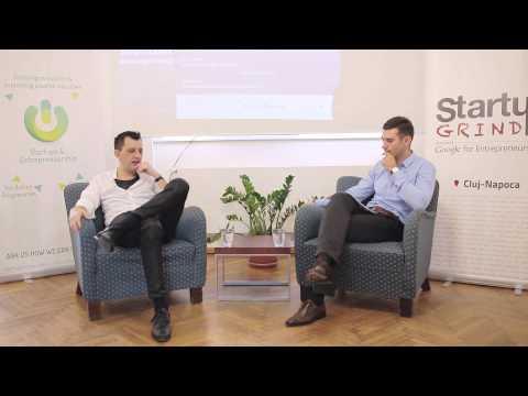 Robert Muresan [exosyphen studios] at Startup Grind Cluj Napoca