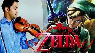 THE LEGEND OF ZELDA - Overworld Theme (Violin / Violino)