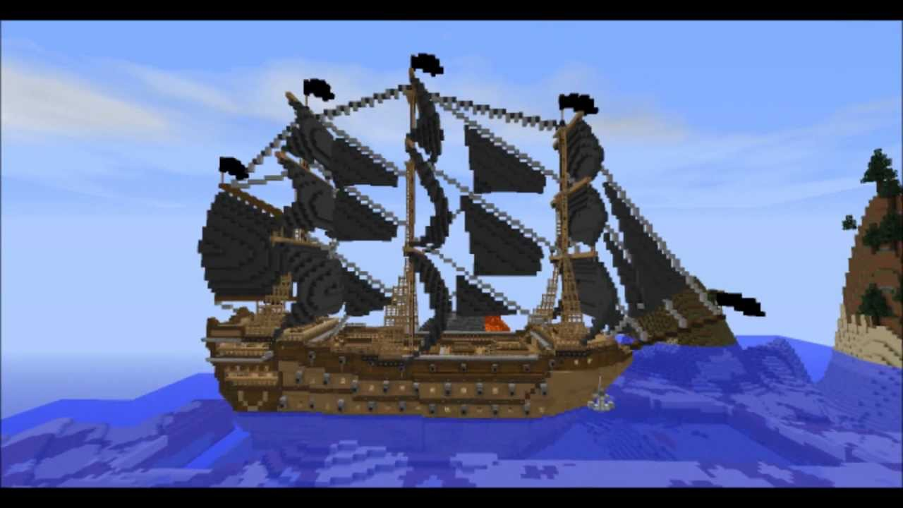 pirate ship minecraft # 1