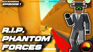 THIS GAME BEATS PHANTOM FORCES || Roblox Bad Business [#1]