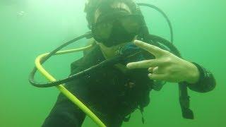 Scuba Diving | Circleville Twin Quarries | July 15, 2018