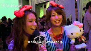 hello kitty by swarovski ft kara tokyo 2011 fashiontv ftv