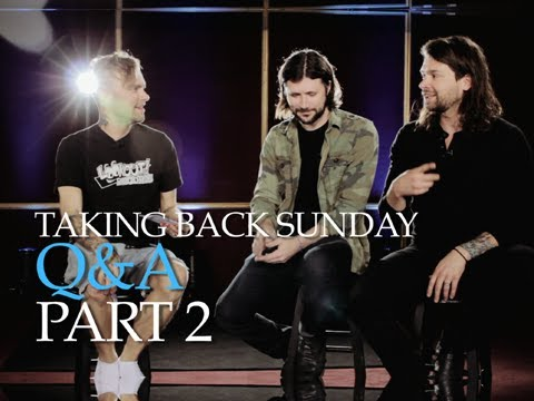 Taking Back Sunday — The PV Fan Q&A (Part 2) Hosted by the Used's Bert McCracken