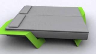 Diagonal Bed Frame