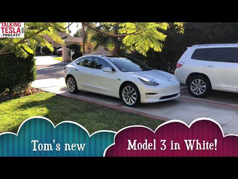 Model 3 Walk-through With Tom Wolfson of Talking Tesla Podcast