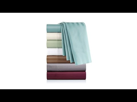 Concierge Collection EasyCare 600TC 6pc Sheets F