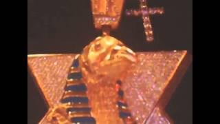 Tyga's New Diamond Iced Out Horus Chain on Splashy Splash