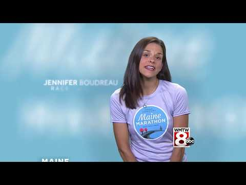 Maine Marathon WMTW Channel 8 TV Ad