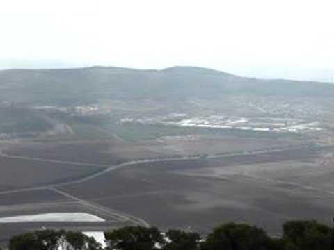 The Valley Of Jezreel-Esdraelon, Israel