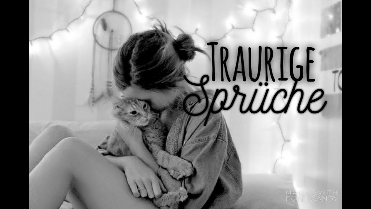 ♥Traurige Sprüche♥ - YouTube