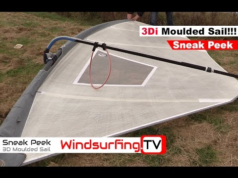 The First 3Di Moulded Wave Sail - North Sails