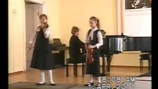 Ch Dancla. Three Little Symphonies, N 3 - Alimova A, Kononenko El.