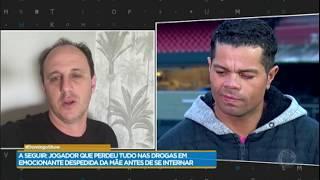 Flávio recebe mensagens de colegas do São Paulo Futebol Clube