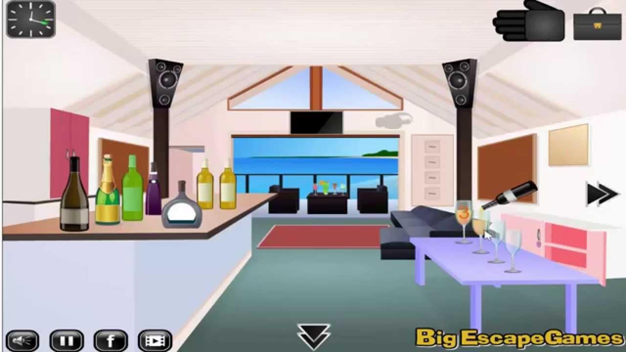 Beach house escape 2 walkthrough youtube for Minimalist house escape 2 walkthrough