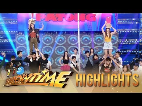 It's Showtime: Team Swabe and Team Aurora compete in Tong-Tong-Tong-Tong Papatong-Patong |