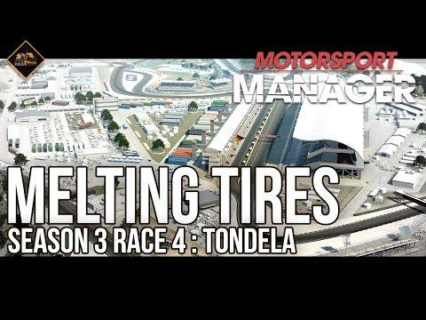 Melting Tires in Tondela Motorsport Manager Gameplay season 3 race 4