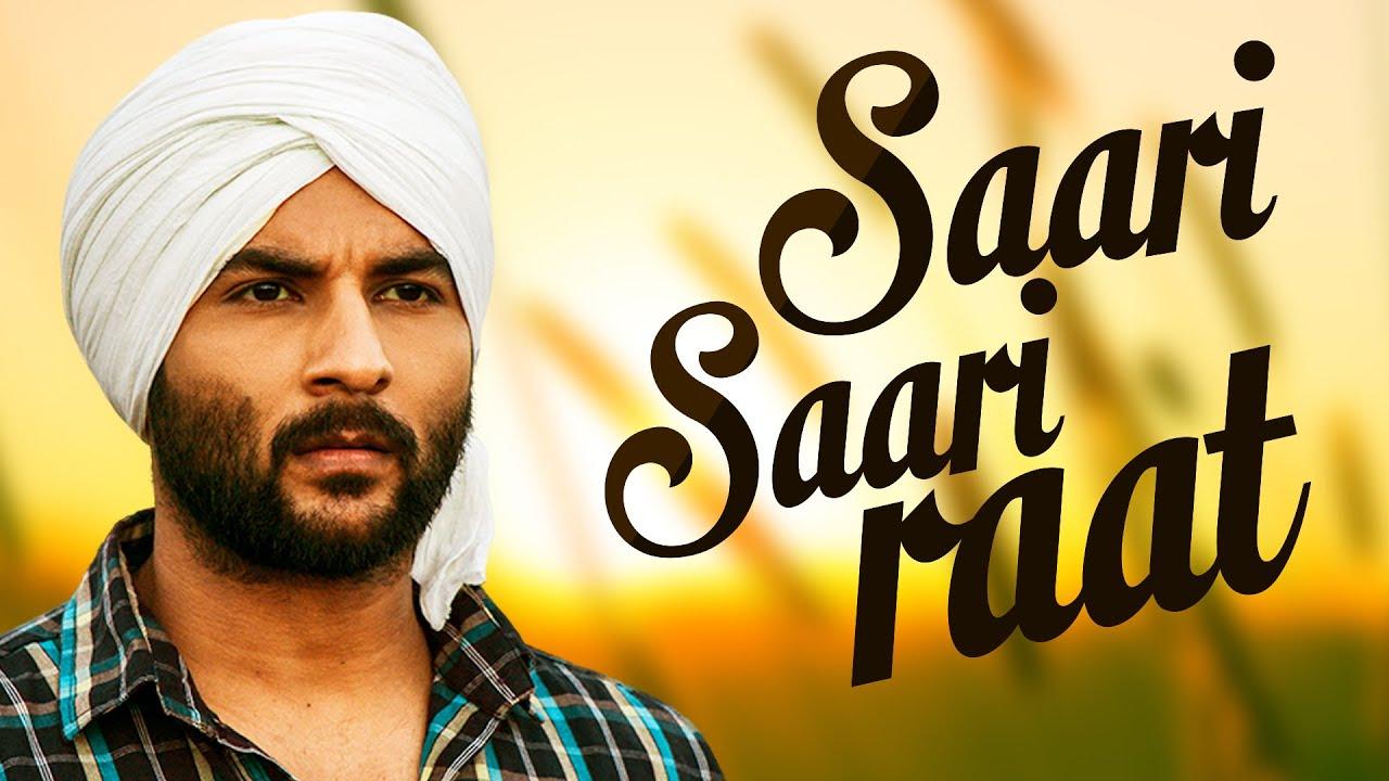 Sari Sari raat Akhil new song