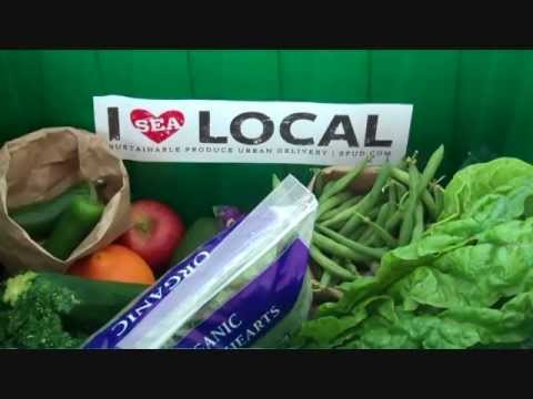 Seattle's Local Organic Produce Box: April 28th - May 3rd