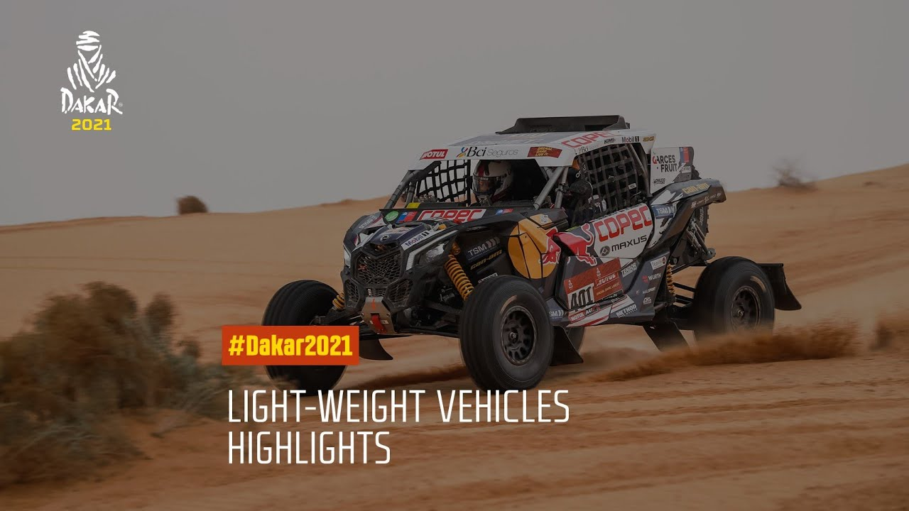 #DAKAR2021 - Light-Weight Vehicles Highlights