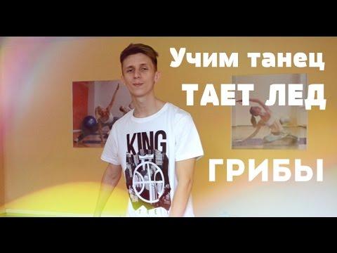 Учим танец на песню Грибы - Тает лед - Cмотреть видео онлайн с youtube, скачать бесплатно с ютуба