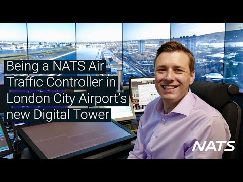Being a NATS Air Traffic Controller in London City Airport's Digital Tower