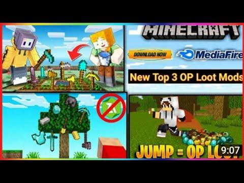 Download Top 3 op loot mod for pocket edition || top 3 op addons for Minecraft pe