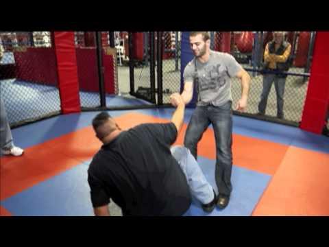 Operation Repo star Lou Pizarro fights in the MMA cage