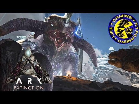 ARK: SURVIVAL EVOLVED: EXTINCTION DLC RELEASE DATE ANNOUNCEMENT AND LIVE REACTION! [REPUG GAMING!]
