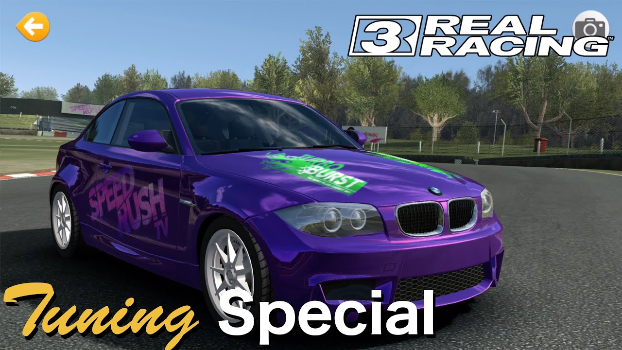 BMW Series M Coupe Tuning Real Racing IOS Gameplay P - Bmw 1 series m coupe