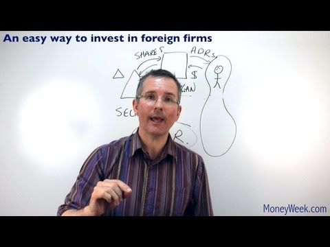 An easy way to invest in foreign firms  - MoneyWeek Investment Tutorials